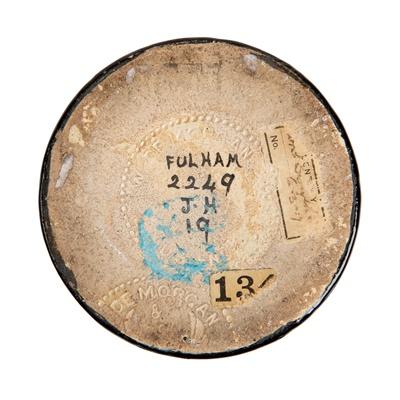 Lot 136 - WILLIAM DE MORGAN (1839-1917) (DESIGNER), J. HERSEY (DECORATOR)