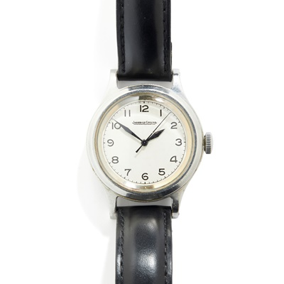 Lot 156 - Jaeger-LeCoultre: a military wrist watch