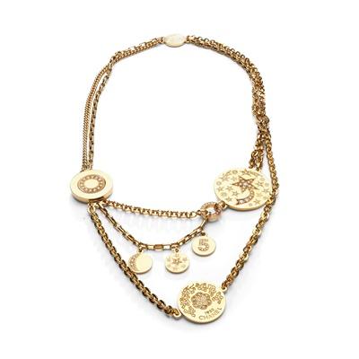Lot 120 - A diamond-set necklace, by Chanel