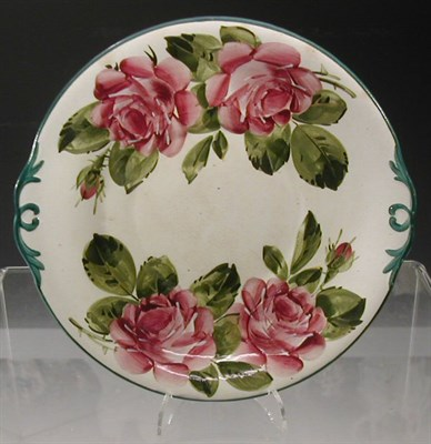 Lot 71 - A Wemyss 'Roses' tureen stand, of shaped...