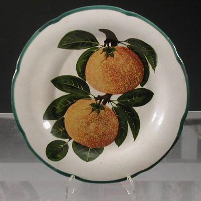 "Lot 65 - A Wemyss ""Oranges"" lobed circular plate,..."