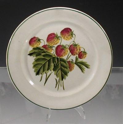 Lot 60 - A Wemyss 'Strawberries' circular plate,...