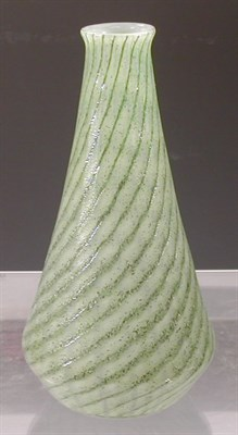 Lot 16 - A rare Monart glass vase, of tapering...