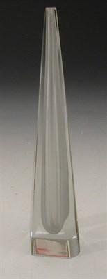 Lot 56 - A Nuutajarvi-Notsjo glass vase designed by Kaj...