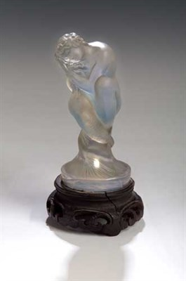 Lot 43 - 'Sirene', a Lalique frosted and opalescent...