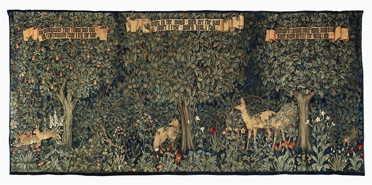 281 - 'Greenery'  a Morris and Company tapestry designed by John Henry Dearle, 1892,