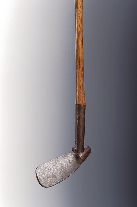 Lot 67 - An R.L. Urquhart, Patent, adjustable head iron