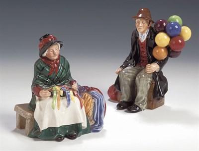 Lot 95 - A Royal Doulton figure, 'The Balloon Man',...