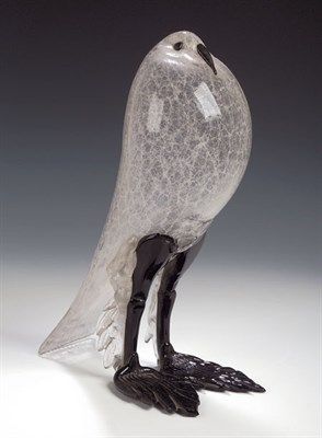 Lot 40 - A 1950s Venetian glass model of a bird, with...
