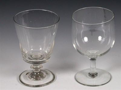 Lot 57 - A composite set of seven Victorian bucket bowl...