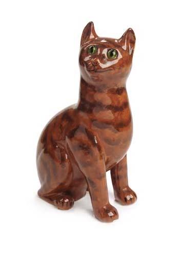 19 - A Wemyss tabby cat,