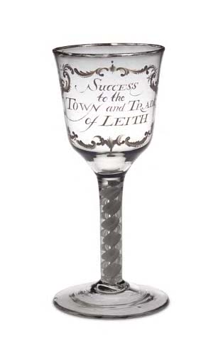 80 - The Leith Goblet, circa 1765,