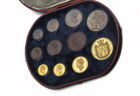 234 - George IV 1826 eleven coin proof set,
