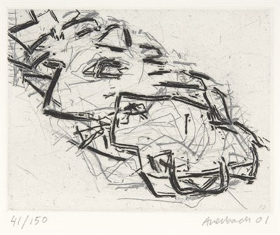 Lot 39 - FRANK AUERBACH (B. 1931)
