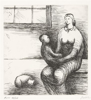 Lot 54 - HENRY MOORE (1898-1986)