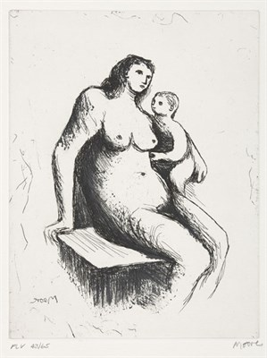 Lot 51 - HENRY MOORE (1898-1986)