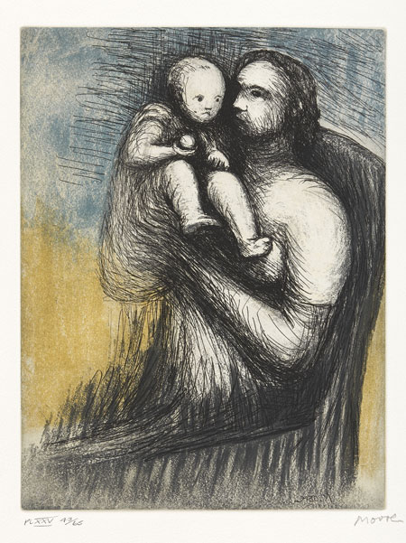 Lot 63 - HENRY MOORE (1898-1986)