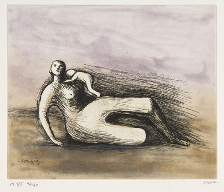 Lot 52 - HENRY MOORE (1898-1986)