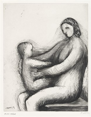Lot 56 - HENRY MOORE (1898-1986)