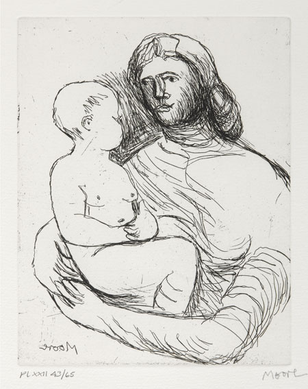 Lot 62 - HENRY MOORE (1898-1986)
