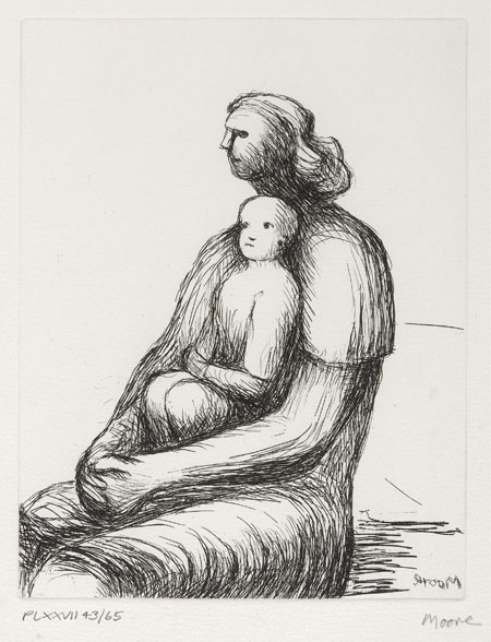 Lot 65 - HENRY MOORE (1898-1986)