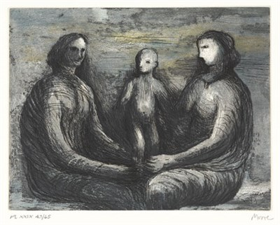 Lot 67 - HENRY MOORE (1898-1986)