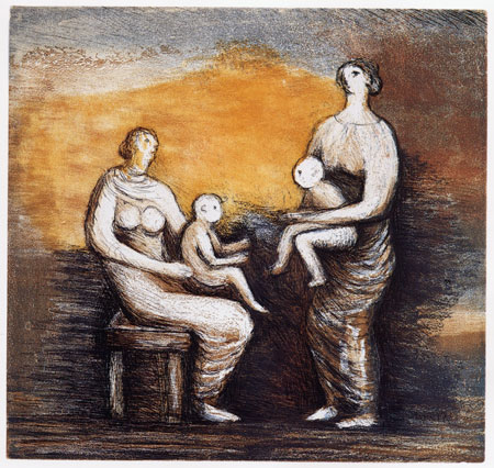 Lot 59 - HENRY MOORE (1898-1986)