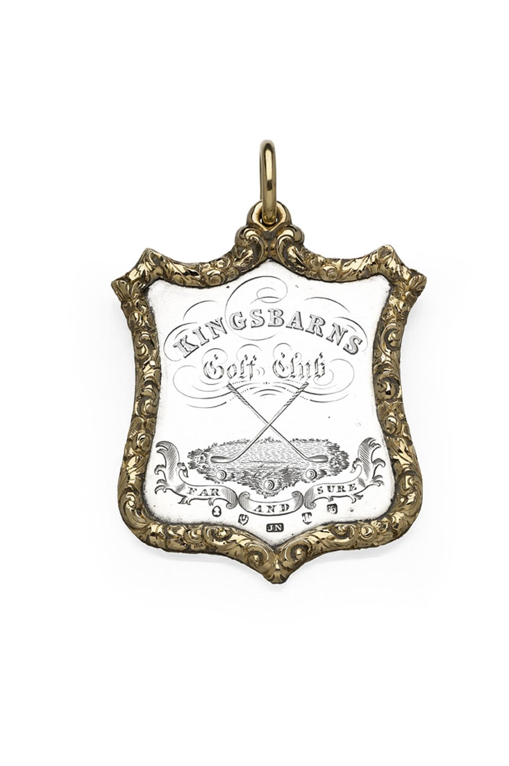 297 - An early  Victorian golfing medal