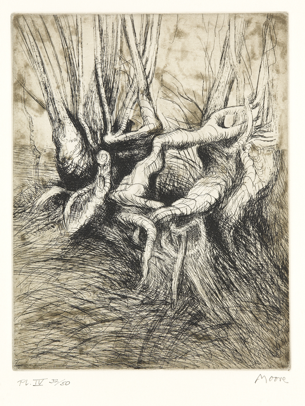 Lot 19 - HENRY MOORE (1898-1986)