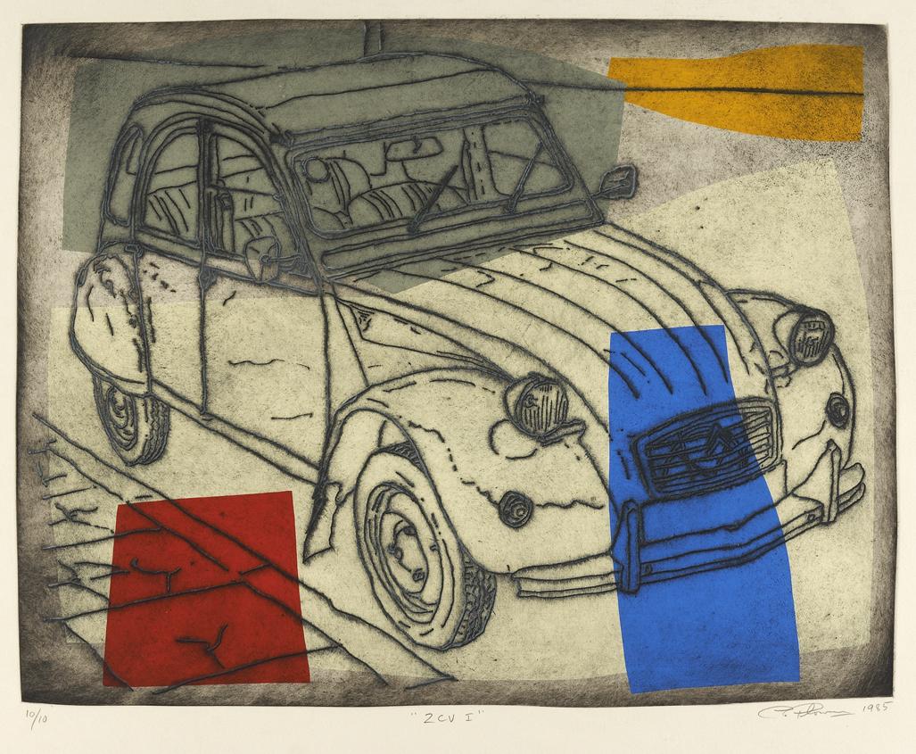Lot 85 - CHRIS PLOWMAN (B. 1952)