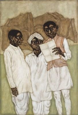 Lot 111 - SHANTI PANCHAL (B. 1951)