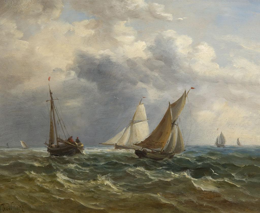 Lot 22 - JOHN MOORE OF IPSWICH (1820-1902)