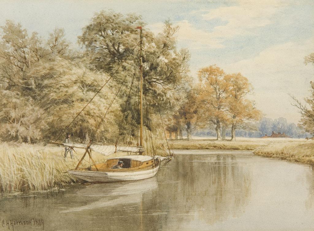 Lot 6 - CHARLES HARMONY HARRISON (1842-1902)