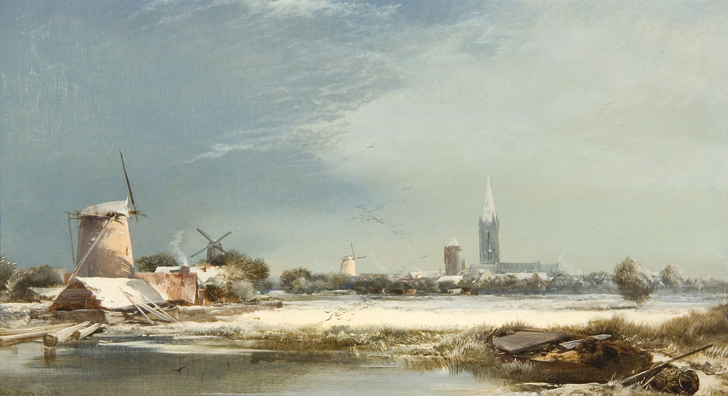 Lot 57 - HENRY BRIGHT (1810-1873)