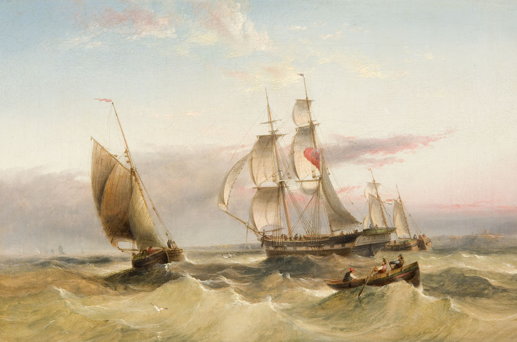 Lot 76 - HENRY REDMORE (1820-1887)