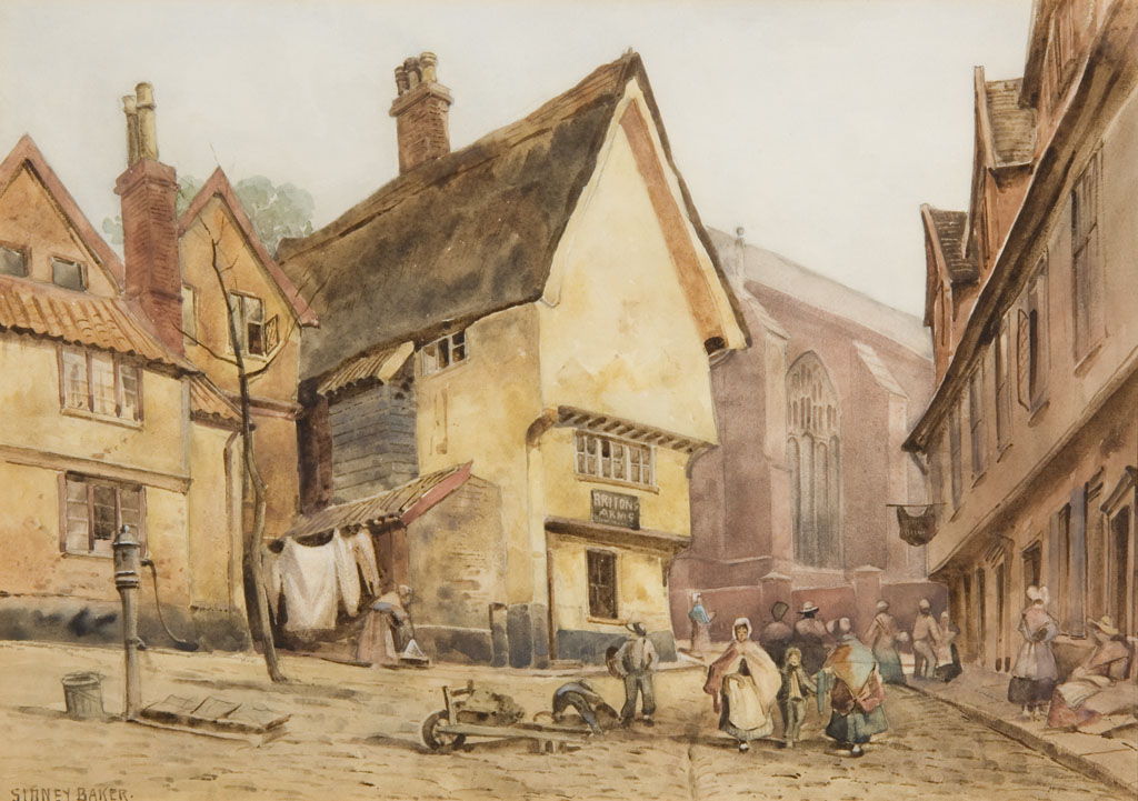 Lot 19 - SIDNEY BAKER (EXH. 1881-1883)