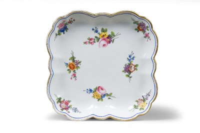 Lot 342 - A Nantgarw dessert dish, early 19th century